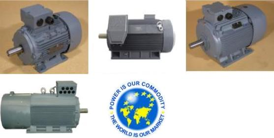 Images of three phase motors